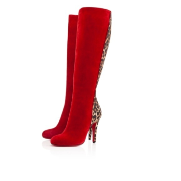 2904b6ced29 NEW • Christian Louboutin • Acheval Tall Boots 38
